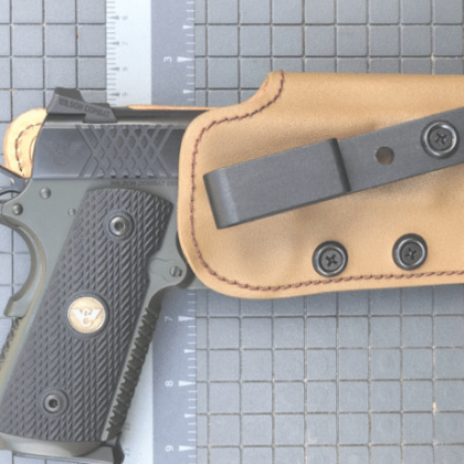 Gear Review Tucker Gunleather Deep Carry DC 2 Single Clip IWB Holster The Truth About Guns