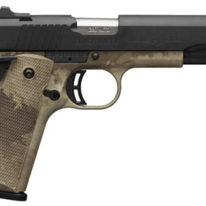 Gun Review Browning 1911 380 Black Label Pro Speed 380 ACP Pistol The Truth About Guns